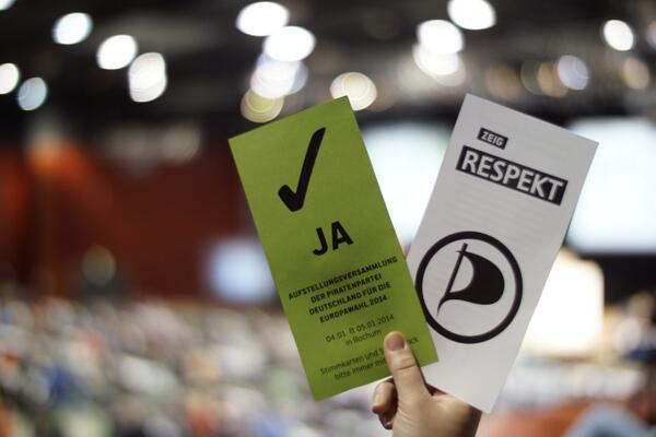 Kandidatenwahl Europaparlament 2014