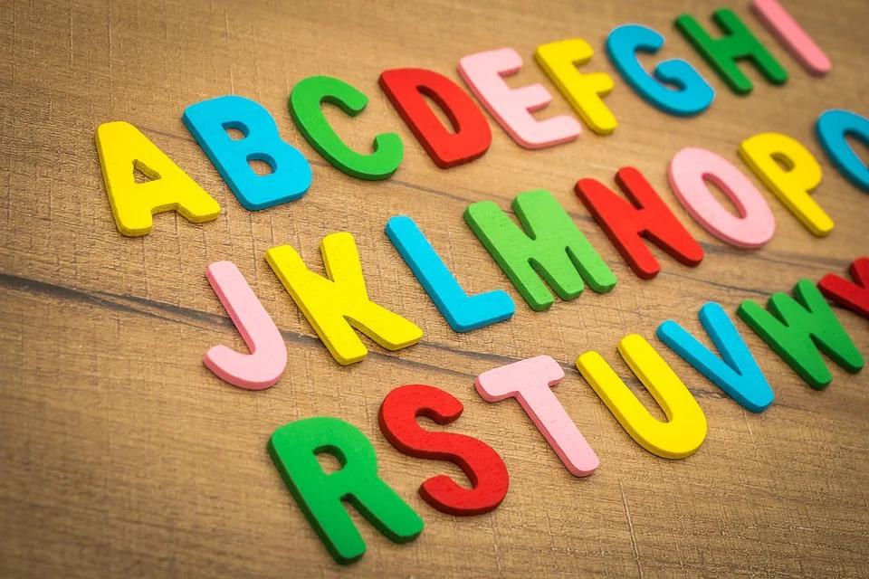 Grundschul-Buchstaben