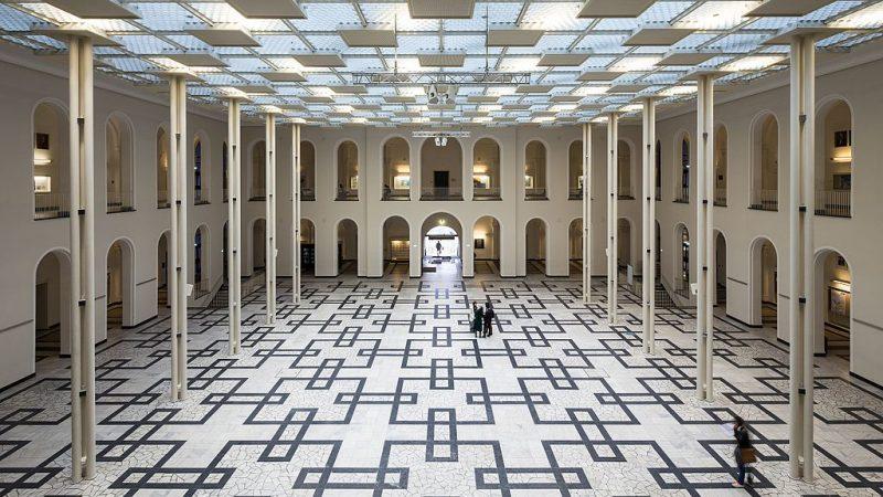 Leibniz Uni Atrium Lichthof
