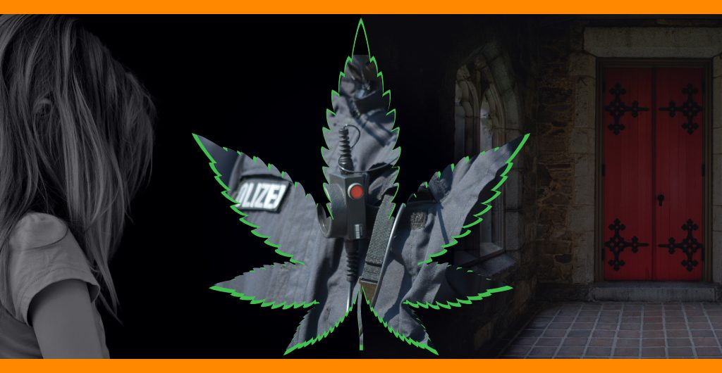 Kindesmissbrauch-Cannabis-Polizei